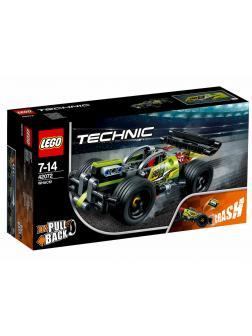 Конструктор LEGO Technic «Зеленый гоночный автомобиль» 42072, 135 деталей