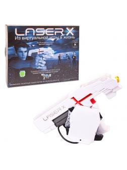 Игровой набор с бластером и мишенью, со световыми и звуковыми эффектами 88011 / Laser X