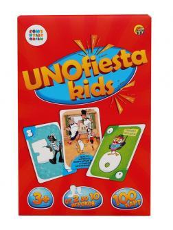 Игра настольная. УНИОФИЕСТА КИДС (UNOfiesta kids) Союзмультфильм