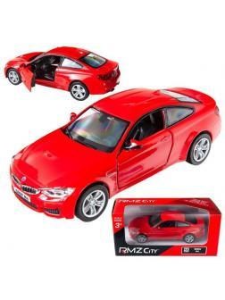 Машинка металлическая Uni-Fortune RMZ City 1:36 BMW M4 COUPE, Цвет Красный