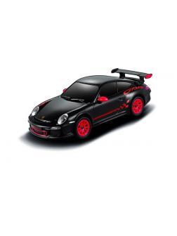 Машинка на радиоуправлении RASTAR Porsche GT3 RS, 18см, цвет чёрный 27MHZ, 1:24