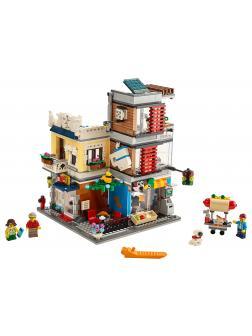 Конструктор LEGO Creator 3в1 «Зоомагазин и кафе в центре города» 31097 / 969 деталей