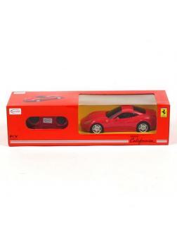 Машинка на радиоуправлении RASTAR Ferrari California, цвет красный, 1:24