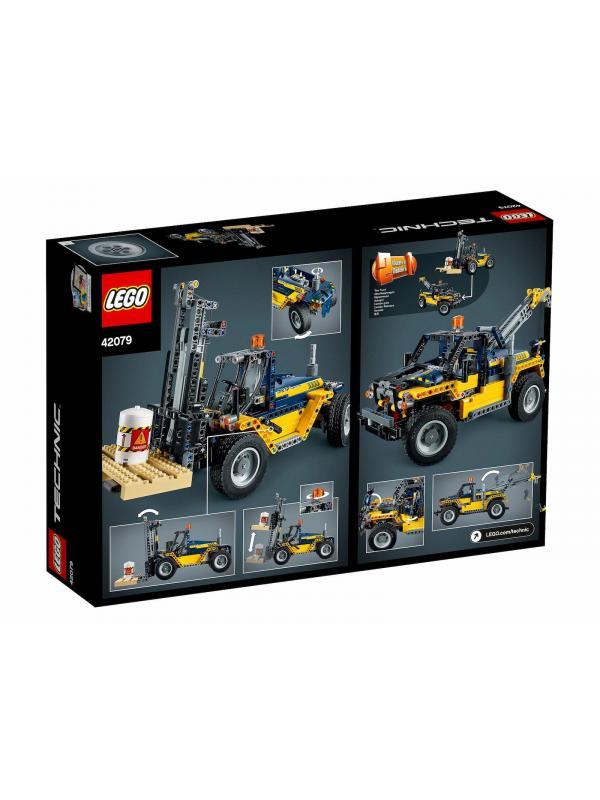 Конструктор LEGO Technic «Сверхмощный вилочный погрузчик» 42079, 592 детали