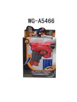 Мини-бластер электромеханический с мягкими снарядами 6011-no / Junfa