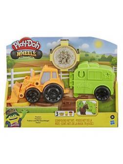 Набор для творчества Hasbro Play-Doh Фермерский трактор