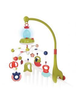 Музыкальная игрушка Жирафики Карусель мобиль Белые мишки
