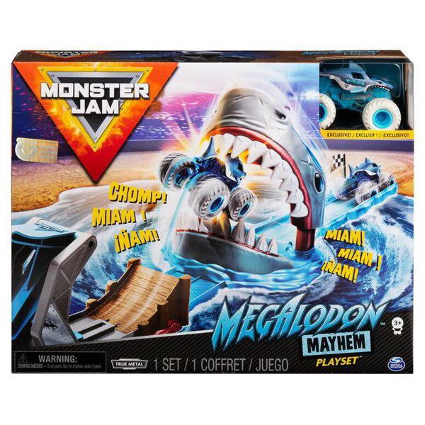 Игровой набор Spin Master Monster Jam Акула