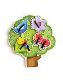Шнуровка Дерево