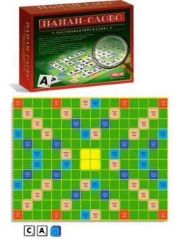 Игра настольная 18 Найди слово (Логос)
