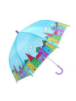 Зонт детский Mary Poppins Домики 46 см