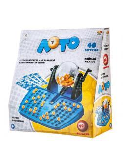 Игра настольная ABtoys Лото с лототроном