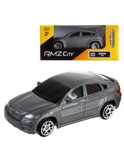 Машинка металлическая Uni-Fortune RMZ City 1:64 BMW X6, Цвет Серебристый