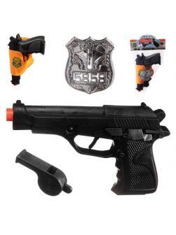 Пистолет полицейский в кобуре 1039 / Junfa