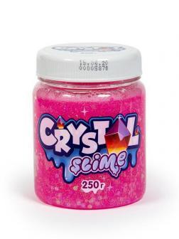 Слайм Slime Crystal розовый, 250г
