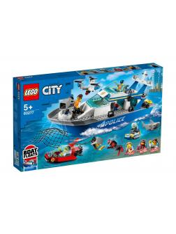 Конструктор LEGO CITY Police 60277 «Катер полицейского патруля» 276 деталей