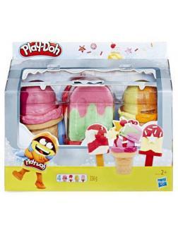 Набор для творчества Hasbro Play-Doh для лепки Холодильник с мороженым