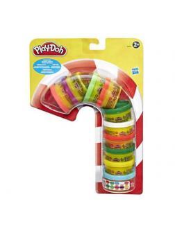 Набор для творчества Hasbro Play-Doh Масса для лепки для праздника 10 цветов