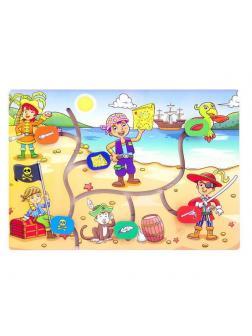 Развивающая игрушка Мастер Игрушек Лабиринт Дети-пираты