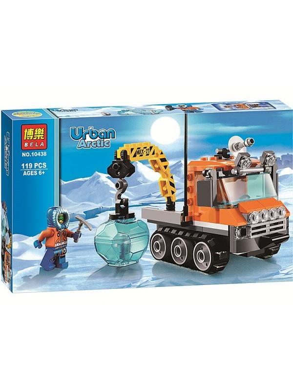 Конструктор Bl «Арктический вездеход» 10438 (City 60033) 119 деталей