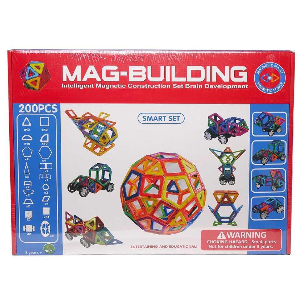 Магнитный конструктор 200 деталей