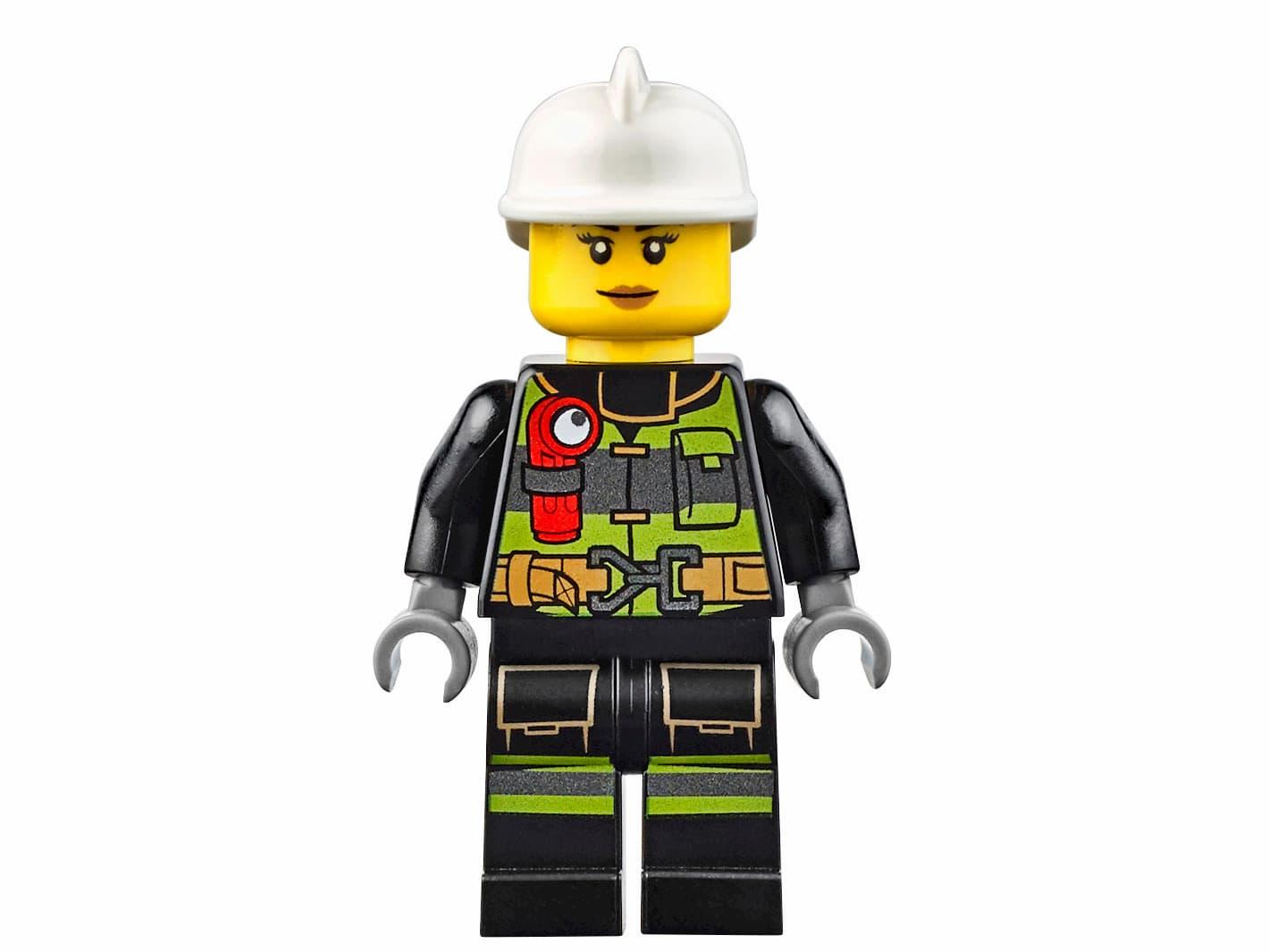 Конструктор Bl «Пожарный автомобиль с лестницей» 10828 (City 60107) / 225 деталей