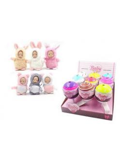 Кукла ABtoys Baby Boutique Пупс-сюрприз в конфетке с аксессуарами 6 видов в коллекции, (3 серия),