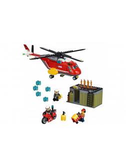 Конструктор Bl «Пожарная команда быстрого реагирования» 10829 (City 60108) 274 детали