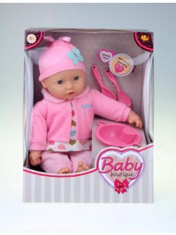 Кукла ABtoys Baby boutique Пупс 40 см, с аксессуарами