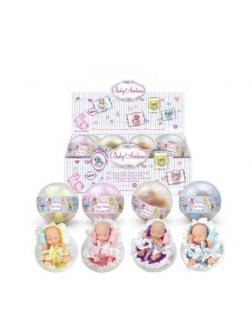 Пупс-куколка в шаре, 24 штуки в дисплее