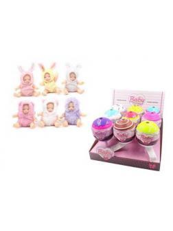 Кукла ABtoys Baby Boutique Пупс-сюрприз в конфетке с аксессуарами 6 видов в коллекции, (2 серия),