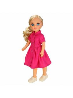 Кукла Анастасия розовое лето озвученная 42 см В3983 / Весна