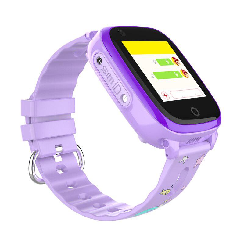 Детские Смарт часы W17 / Фиолетовые