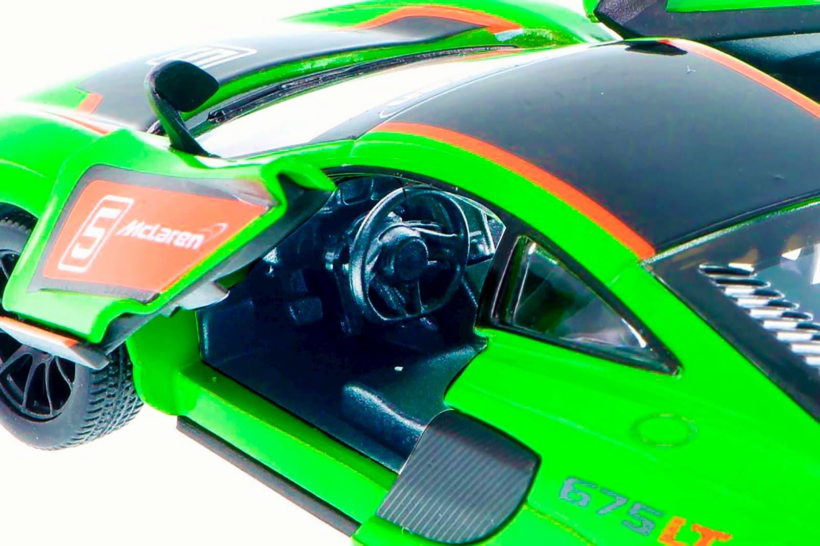 Машинка металлическая Kinsmart 1:36 «McLaren 675LT Exclusive Edition» KT5392DF инерционная / Микс