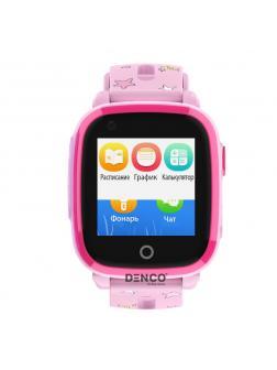 Детские Смарт часы W17 / Розовые