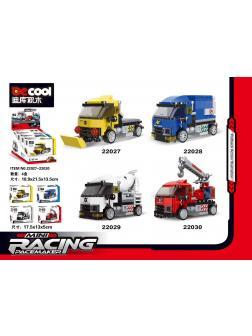 Конструктор Decool «Mini Racing pace maker» 4 в 1 / 22027-30
