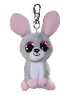 Брелок Кролик Pupu, серый, 8,5 см.