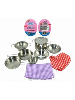 Набор посуды металлической для кухни &