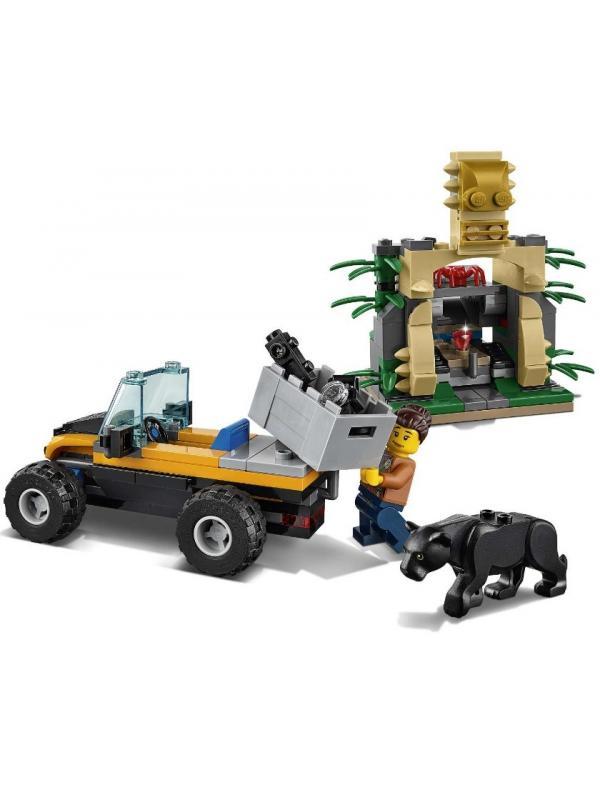 Конструктор Bl «Миссия: Исследование джунглей» 10710 (City 60159) 397 деталей