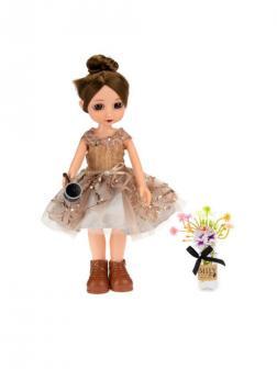 Кукла Emily Mulisha с бантиком и аксессуарами, 28см WJ-12697 / ABtoys