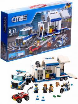 Конструктор «Мобильный командный центр» 10657 (City 60139) / 398 деталей