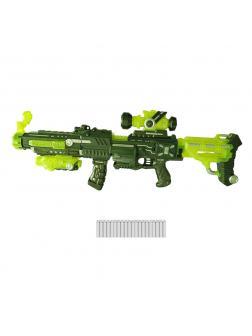 Мегабластер, в наборе с 20 мягкими снарядами, на батарейках  PT-00809 / ABtoys