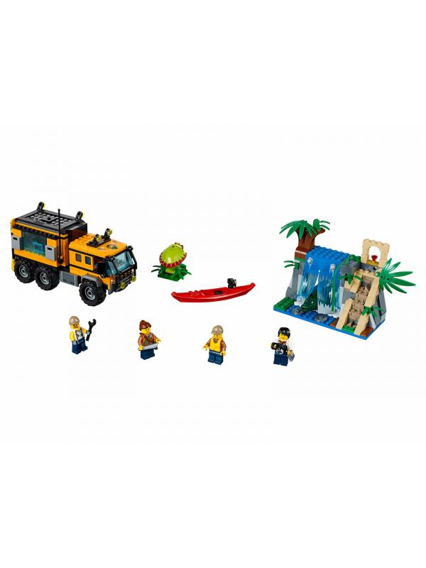 Конструктор Bl «Передвижная лаборатория в джунглях» 10711 (City 60160) 465 деталей
