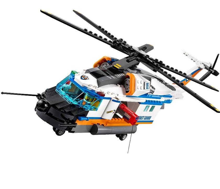 Конструктор Ll «Сверхмощный спасательный вертолёт» 39053 (Совместимый с ЛЕГО 60166) 439 деталей