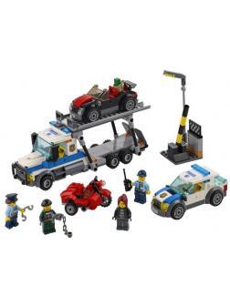 Конструктор Bl «Ограбление грузовика» 10658 (Аналог 60143) / 427 деталей
