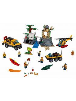 Конструктор Bl «База исследователей джунглей» 10712 (City 60161), 857 деталей