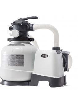 Песочный фильтр-насос 10.5м3/ч, резервуар для песка 21.3кг, фракция 0.45-0.85мм