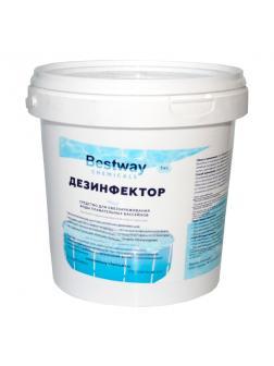 ДЕЗИНФЕКТОР, 1кг ведро, быст.стаб.хлор в гранулах для обеззараживание воды