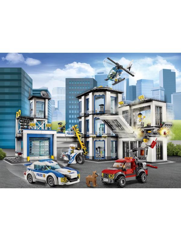 Конструктор Bl «Полицейский участок» 10660 (City 60141) / 936 деталей