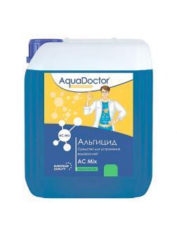 АЛЬГИЦИД MIX,30л канистра, жидкость для шоковой борьбы с водорослями, бактериями, грибками и спорами